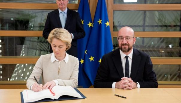 Čelnici Evropske unije danas potpisali sporazum o Brexitu