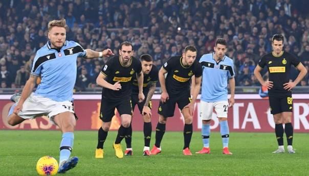 Lazio nakon preokreta slavio u derbiju protiv Intera