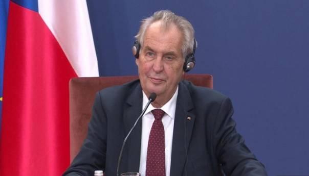 Zeman: Argumentovaću stav o povlačenju priznanja Kosova